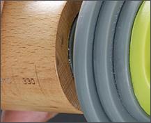 Joseph 厚度可調桿麵棍(彩色) 調桿麵棍 麵棍 櫸木 高延展性 可更換墊片 調整麵團厚度 側邊輔助刻度